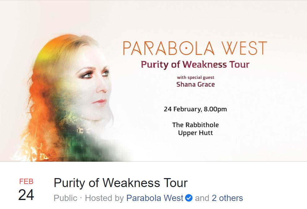 Parabola West gig