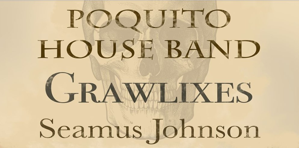 Poquito House Band gig poster