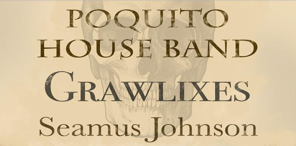 Poquito House Band gig poster