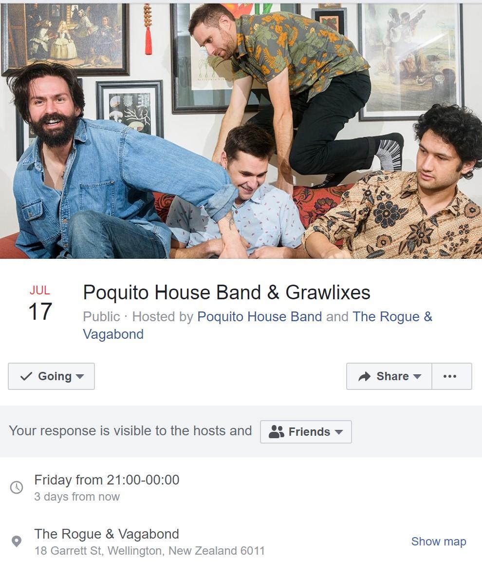 Grawlixes & Poquito House Gig